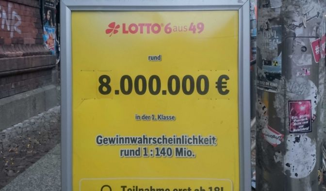 lotto jackpot aktuell