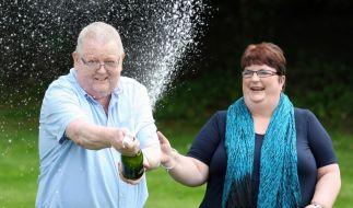 Lottogewinner freuen sich (Foto)