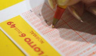 Lottozahlen und Quoten bei Lotto am Samstag. (Foto)