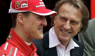 Luca Di Montezemolo 2005 mit Michael Schumacher. (Foto)
