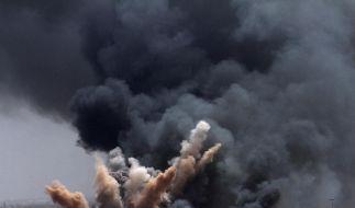 Luftangriffe auf Libyen (Foto)