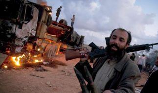 Luftangriffe lassen Gaddafi unbeeindruckt (Foto)