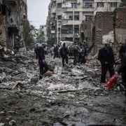 Medienbericht: Russland verübt Kriegsverbrechen in Syrien (Foto)