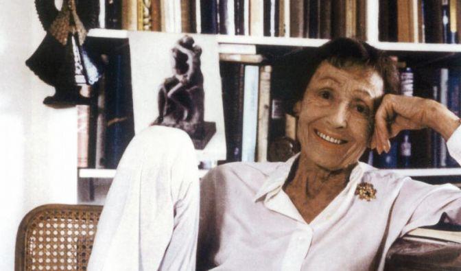 Luise Rainer auf dem «Boulevard der Stars» (Foto)