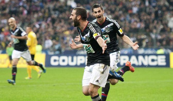 Lyon gewinnt französischen Pokal gegen Drittligisten (Foto)