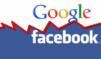 Machtkampf Facebook vs. Google (Foto)