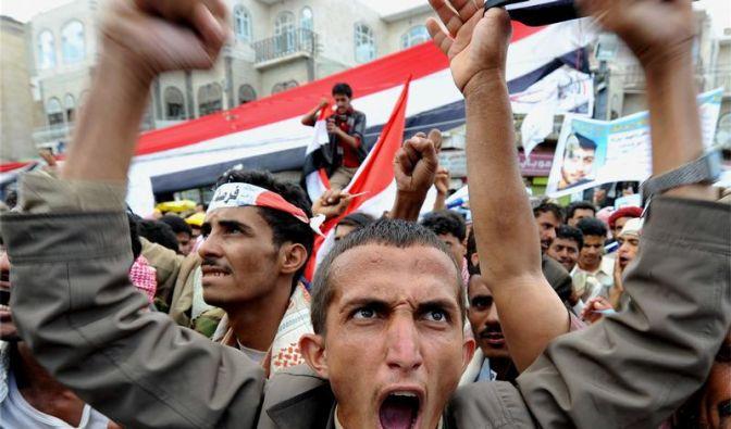Machtkampf im Jemen eskaliert (Foto)