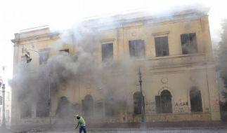 Machtkampf in Ägypten: Tote bei schweren Unruhen (Foto)