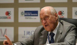 Machtmensch des Fußballs: João Havelange wird 95 (Foto)