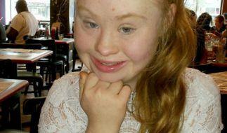 Madeline Stuart ist das erste Model mit Down-Syndrom. (Foto)