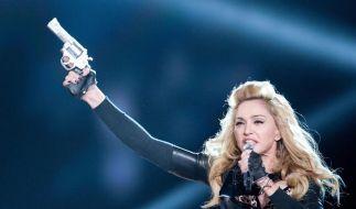 Madonna stänkert weiter gegen Le Pen (Foto)