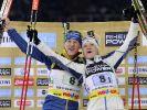 Mäkäräinen/Bergman begeistern bei Biathlon-Show (Foto)