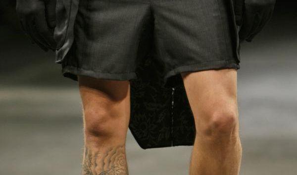 Männer in Shorts müssen gepflegte Beine haben (Foto)