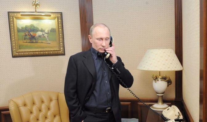 6. März: Putin und Obama telefonieren: «Stabilität wegen Ukraine nicht aufs Spiel setzen» (Foto)