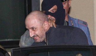 Mafiaboss Gerlandino Messina lächelt bei seiner Verhaftung. Er hat auch gerade noch Der Pate gezockt (Foto)