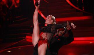 Magdalena Brzeska mit Tanzpartner Erich Klann bei Let's Dance (Foto)