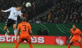 «Magisches Dreieck» zaubert: DFB 3:0 gegen Oranje (Foto)