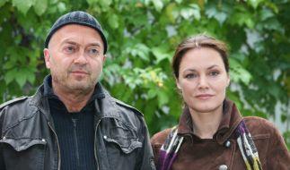 Maja Maranow und ihr Schauspiel-Kollege Florian Martens. (Foto)