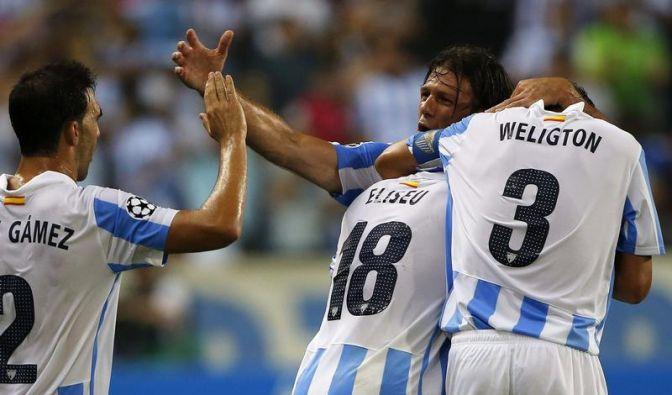 Malaga und Borissow gewinnen Hinspiele (Foto)