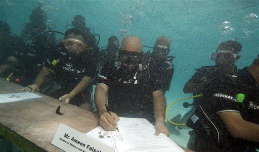 Maldives Underwater Cabinet (Foto)