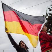 """Flüchtlinge in Idomeni rufen """"Mama Merkel!"""" (Foto)"""