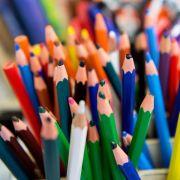 Manche Buntstifte enthalten zu viel Blei, das für Kinder schädlich sein kann. (Foto)