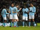 Manchester City auf Rang zwei: 3:1 bei West Ham (Foto)