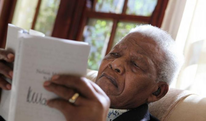 Mandelas Tagebücher kommen mit Google ins Netz (Foto)