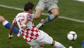 Mandzukic verzückt bei EM weiter - nun sogar Barca? (Foto)