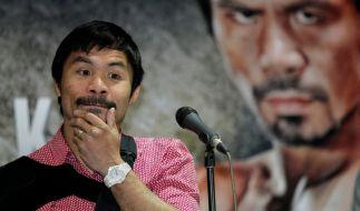 """Manny Pacquiao über Homosexuelle: """"Tiere kennen den Unterschied."""" (Foto)"""
