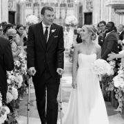 Exklusive Hochzeitsbilder! So wunderschön sah seine Nina aus (Foto)