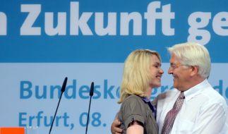 Manuela Schwesig und Frank-Walter Steinmeier (Foto)