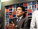 Maradona offiziell als Nationalcoach vorgestellt (Foto)