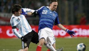Maradonas Argentinier besiegen Frankreich (Foto)