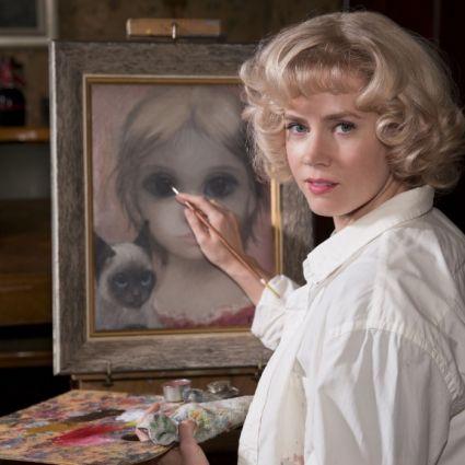 Margarets (Amy Adams) Bilder sind weltberühmt. Der einzige Haken: Nicht ihr Name, sondern der ihres Mannes Walter Keane (Christoph Waltz) steht unter den Bildern. (Foto)
