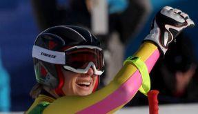 Maria Riesch im Ski-Olymp (Foto)