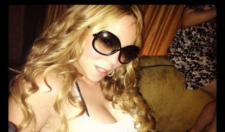 Mariah Carey twittert sich gern in sexy Posen. (Foto)