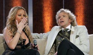 Mariah Carey und Thomas Gottschalk (Foto)