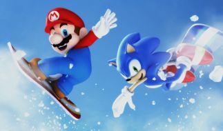 Mario & Sonic bei den Olympischen Winterspielen (Foto)