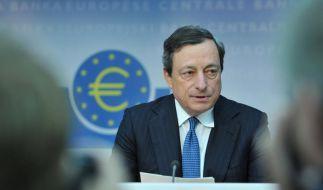 Mario Draghi, Präsident der Europäischen Zentralbank und oberster Währungshüter Europas. (Foto)