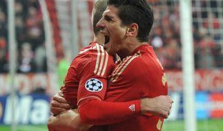 Mario Gomez auf Messis Spuren (Foto)