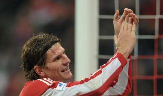 Mario Gomez: Drei-Tore-Antwort an Klose (Foto)