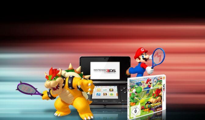 Mario Tennis Open - Mit etwas Glück können Sie eine Konsole und ein Spiel gewinnen. (Foto)