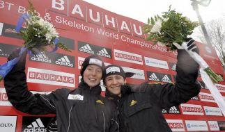 Marion Trott holt Gold bei Skeleton-WM (Foto)