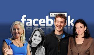 Mark Zuckerbergs starkes Frauentrio (Foto)
