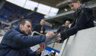 Markus Babbel wird in Hoffenheim vorgestellt (Foto)