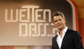 Markus Lanz plagen Albträume vor der ersten Wetten, dass..?-Show. (Foto)