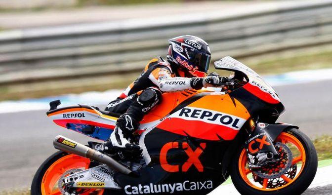 Marquez gewinnt Moto2-Rennen in Estoril (Foto)