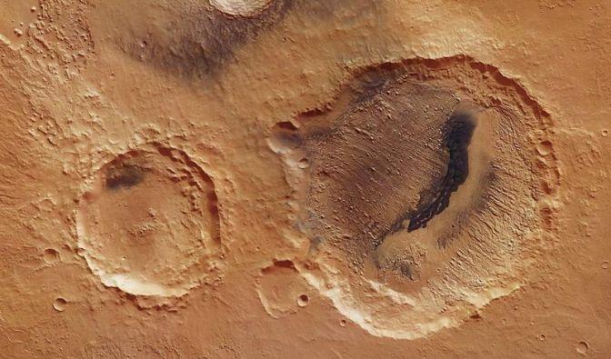 Mars-Fotos liefern Hinweise für regelmäßige Klimawechsel (Foto)