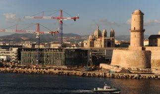Marseille ist 2013 Kulturhauptstadt Europas. Dafür baut sich die alte Hafenstadt völlig neu. (Foto)